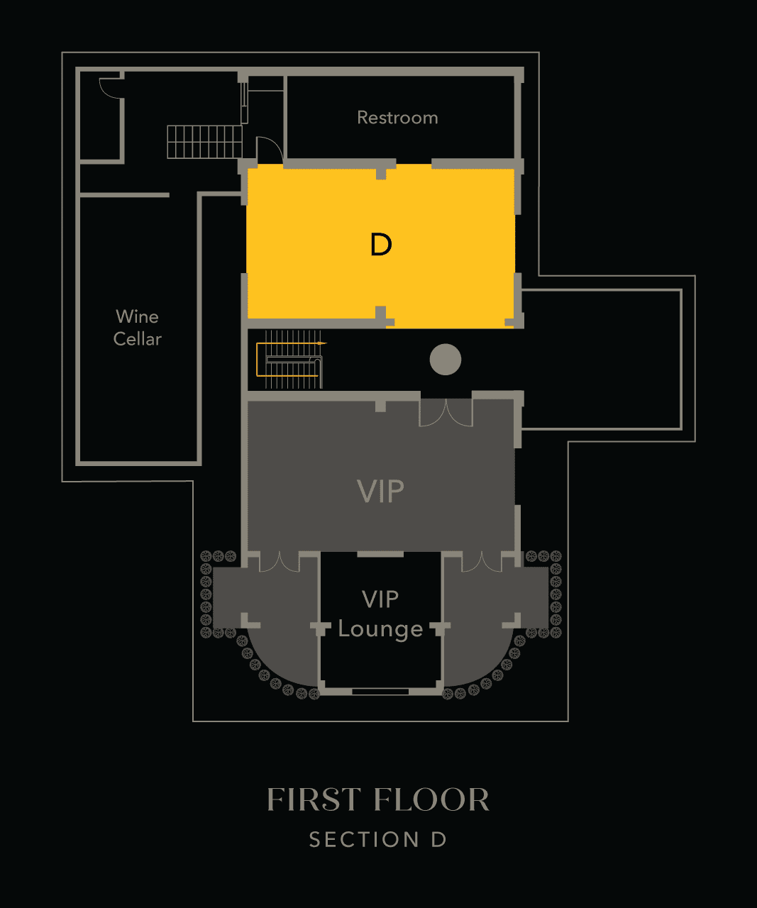 Section D - First Floor