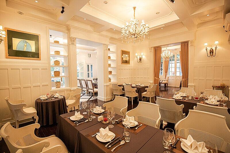 Lý Club Hanoi Dining Room D2
